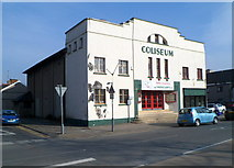 SH5639 : Coliseum cinema, Porthmadog by Jaggery