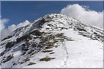NN1332 : North West Ridge Beinn Eunaich by Roddy Urquhart