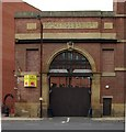 SK3587 : Entrance to former Exchange Brewery, Sheffield by Julian Osley