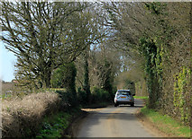 ST5958 : 2012 : Stowey Road heading west toward White Cross by Maurice Pullin