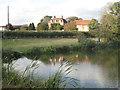 SP4477 : Fishing lake near Newnham Hall by Robin Stott