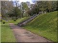SD8034 : Gawthorpe Hall Garden by David Dixon