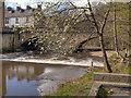 SD7933 : River Calder, Padiham by David Dixon