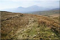SH6543 : Old quarry track below Moelwyn Bach by Bill Boaden