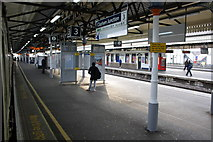TQ2775 : View from Platform 3, Clapham Junction station by Roger Templeman