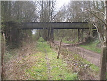 SK4478 : Bridge near Birley Farm by John Slater