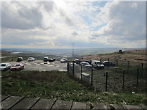 SD9617 : View from The Whitehouse Blackstone Edge by Ian Knight