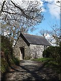 SX4268 : The riverside chapel at Cotehele by David Smith