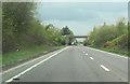 SJ5561 : Birch Heath road bridge over A49 north by John Firth