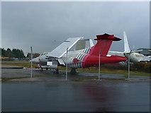 SZ1098 : Bournemouth - Fighter Plane by Chris Talbot