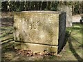 TQ2272 : The Ismay plot, Putney Vale Cemetery:  the ship's compass by Stefan Czapski