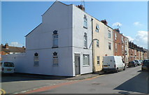 SO8318 : Corner of Widden Street and Sinope Street, Gloucester by Jaggery