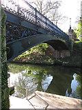 TQ2783 : Primrose Hill canal footbridge by Oast House Archive