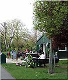 TQ3289 : Downhills Park Community Cafe by Christine Westerback
