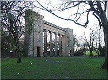 SD8303 : The Colonnade in Heaton Park by Andrew Tatlow