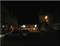 SP8699 : Uppingham Market Place by Andrew Tatlow