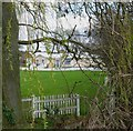 SK5914 : Sileby Town Cricket Club pavilion by Andrew Tatlow