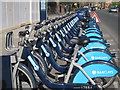 TQ2682 : London cycle hire by Oast House Archive