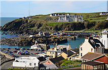 NW9954 : Portpatrick harbour and hotel by The Carlisle Kid