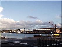 TQ7769 : Basin 3, Chatham Maritime by David Anstiss