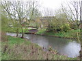 SK9137 : River Witham, Grantham by JThomas