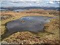 NG3132 : Lochan on Beinn nan Dubh-lochan by Richard Dorrell