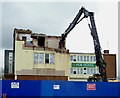 SO9198 : The demise of the Fox Hotel in Wolverhampton by Roger  Kidd