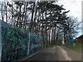 NZ8711 : Building The Keep at Raithwaite Hall by Steve  Fareham