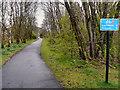 NN5200 : Cycletrack to Gartmore by David Dixon