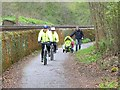 NY9265 : Hexham's only cycle path by Oliver Dixon