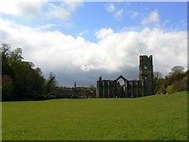 SE2768 : Fountains Abbey by bernard bradley