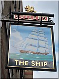 TQ3279 : The Ship sign by Oast House Archive