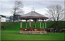 TR1457 : Bandstand, Dane John Gardens by N Chadwick