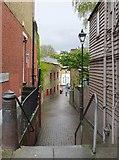 TQ2273 : Blackford's Path, seen from Roehampton High Street by Stefan Czapski