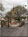 NS7993 : Stirling War Memorial by David Dixon