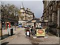 NS7993 : Pavement Cafe, Barnton Street by David Dixon