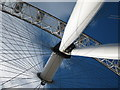 TQ3079 : London Eye detail by Oast House Archive