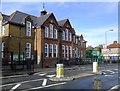 TQ2473 : St Michael's Church of England School, Granville Road, Southfields by Stefan Czapski