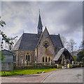 NS3692 : Luss Church by David Dixon
