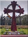 NS3692 : Saint Kessog's Cross by David Dixon