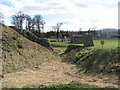 SP9908 : The Moat between the Motte and the Bailey by Chris Reynolds
