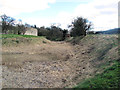 SP9908 : The dry southern moat at Berkhamsted Castle by Chris Reynolds