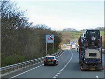 SD4964 : Northbound M6, Junction 34 by David Dixon