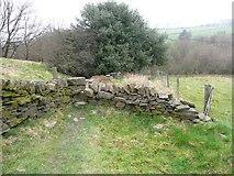 SE0421 : Stile on Ripponden Footpath 65, Barkisland by Humphrey Bolton