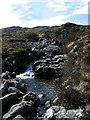 NM3998 : Waterfall in Allt Slagan a'Choilich by Anne Burgess