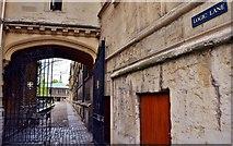 SP5106 : Oxford University: Logic Lane, University College by Eugene Birchall