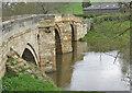 SE7365 : Kirkham Bridge over the River Derwent by Pauline E