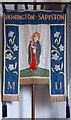 TL9174 : All Saints, Honington - Banner by John Salmon