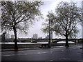 TQ2777 : Battersea Bridge from Chelsea by PAUL FARMER