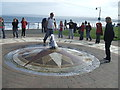 TA1180 : Mosaic compass and fountain by Graham Hogg
